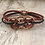 Thumbnail: Copper 3 Mini Circle Guitar String Bracelet