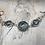 Thumbnail: Antique Silver Circle Of Life Link Bracelet