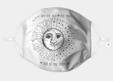 Sun, Moon, and Stars Mask