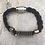 Thumbnail: Black Hemp Electric Guitar String Bracelet