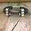 Thumbnail: Leather Electric Guitar String Bracelet Blue