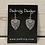 Thumbnail: Silver Arbor Vitae Earrings