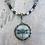 Thumbnail: Grey Dragonfly Necklace