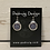 Thumbnail: Silver Dream Horses Multi Crest Earrings