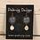 Thumbnail: Copper Azure Tri Fitheach Earrings
