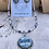 Thumbnail: Violet Dragonfly Necklace and Earring Set