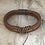 Thumbnail: Brown Leather Bass String Bracelet
