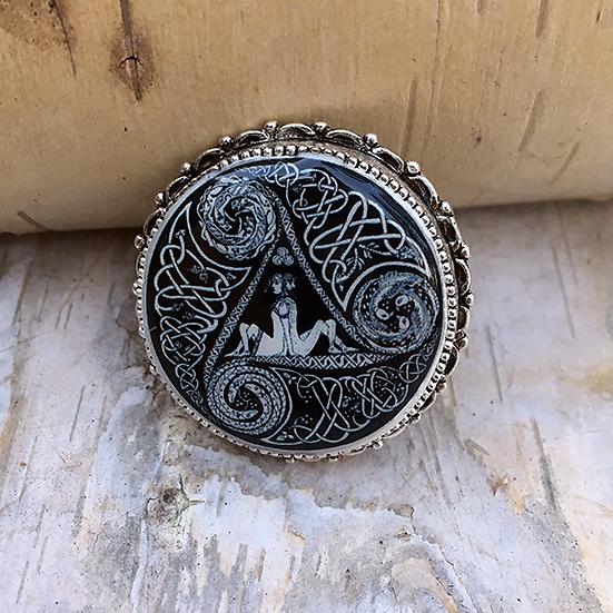 Circle Of Life Pin