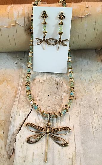 Green Dragonfly Set