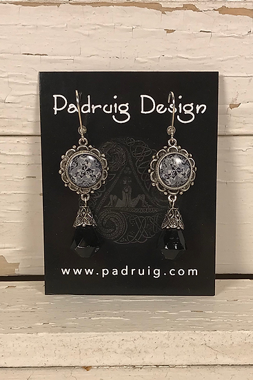 Silver Dream Horses Earrings