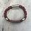 Thumbnail: Leather Multi Electric Guitar String Bracelet