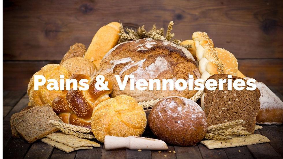 pains et viennoiseries maison