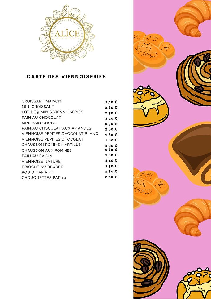 viennoiseries maison alice boulangerie
