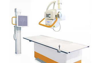 Ceiling-mounted-X-ray-system-with-Bucky-