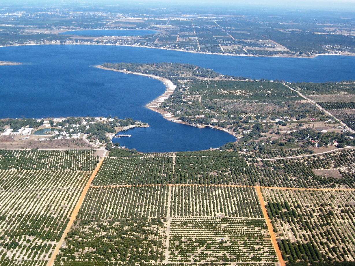 Crooked Lake Aerial