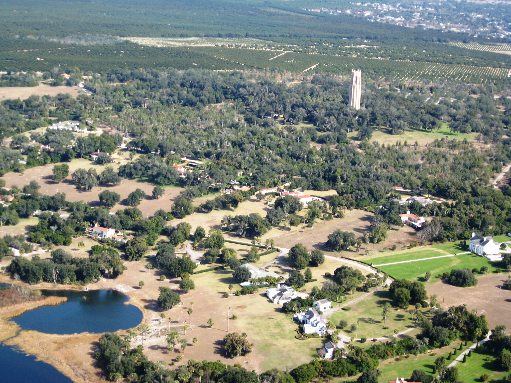 Bok Tower Mountain Lake
