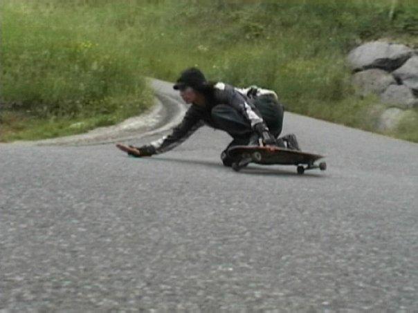 longskate speed downhill