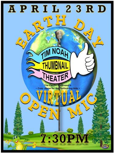 Thumbnail Theater playbill open mic nigh
