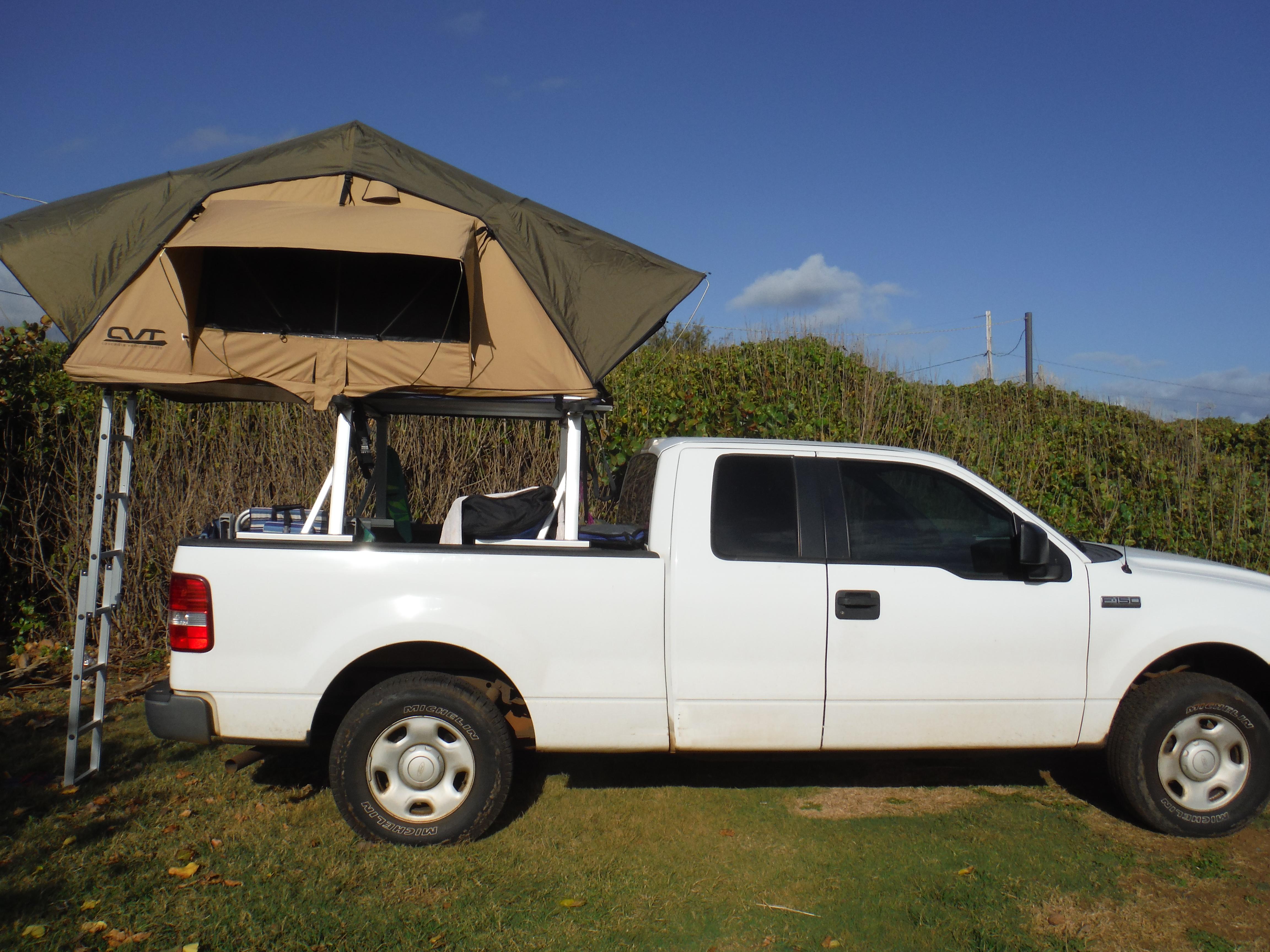 Roof Top Tent Gl&er Roof Top Tent Gl&er ... & Roof Top Tent Glamper | Go Camping HI/ Kauai Camping