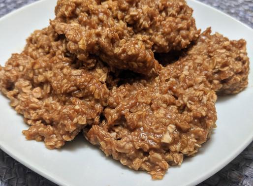 Quick & Easy No Bake Oatmeal Cookies