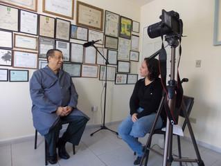 Nosso primeiro entrevistado - Waldir Teixeira