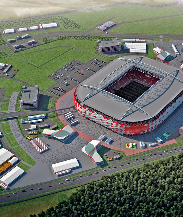 Moscow Spartak stadium