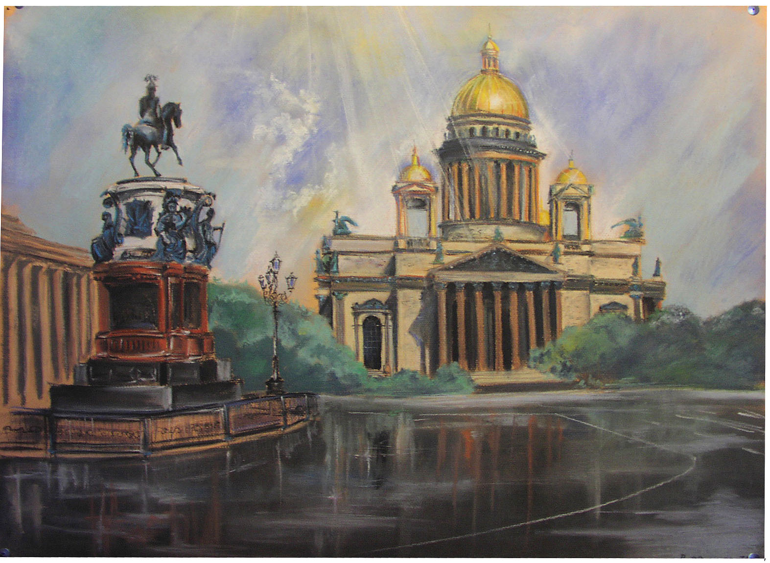 St.Petersburg art practice