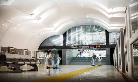 """Metro station """"Lesoparkovaya"""" >"""