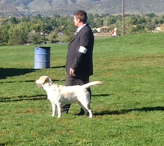 Bailey at her first show