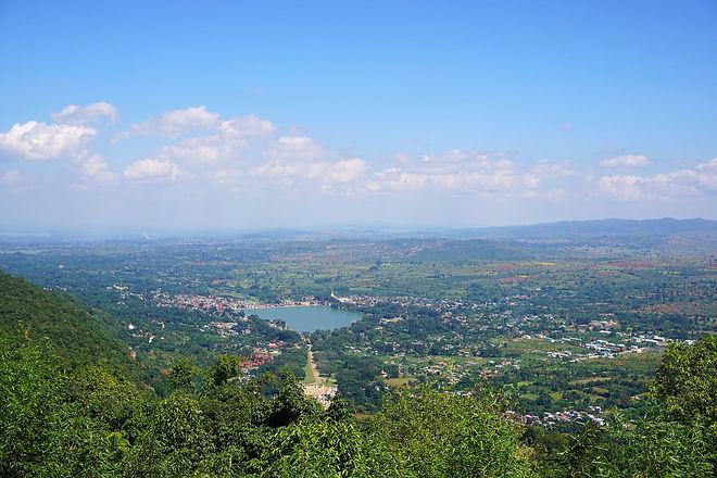 Pindaya Town And Loake.jpg