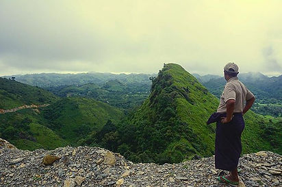 Smallholder Farmer overlooking Pindaya