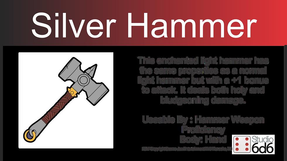 RPEX Pin, Silver Hammer