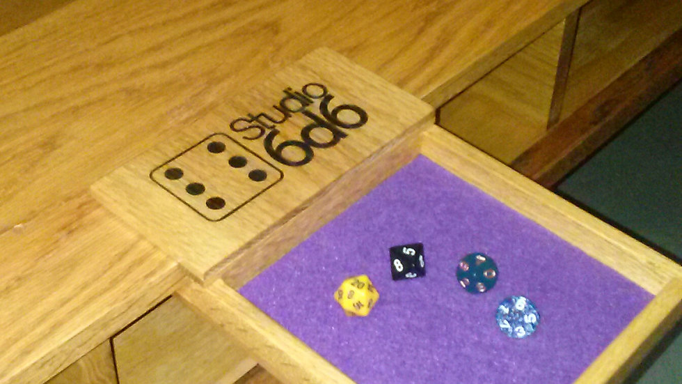 Table-Side Dice Tray