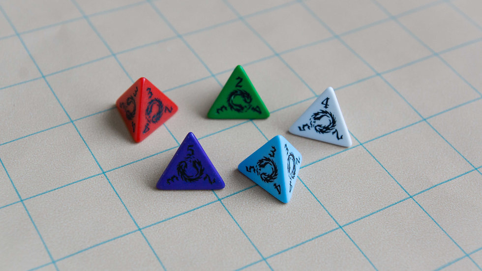 Magic Missile Dice! 5 Colors Available!
