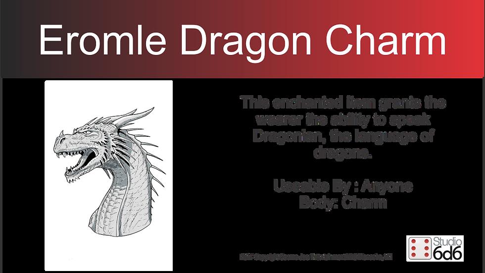 Larry Elmore Dragon, Eromle