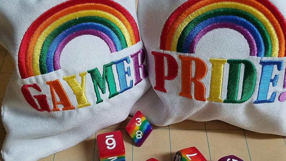 Gaymer/Pride Dice Bags