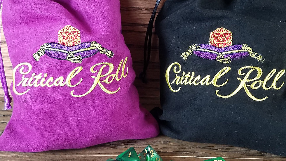 Critical Roll Dice Bags