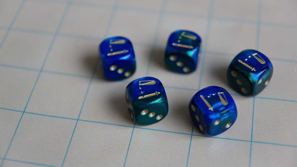 Acid Damage Dice