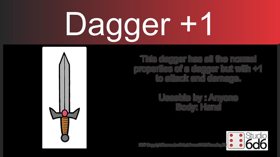 RPEX Pin, Dagger +1