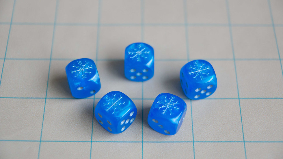 Frost Dice, Cold Damage