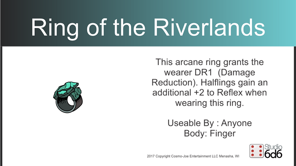 RPEX Pin, Ring of the Riverlands