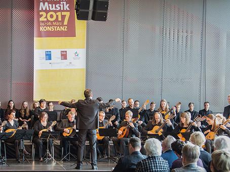 """Teilnahme an den """"Tagen der Chor- und Orchestermusik"""" in Konstanz am 25./26.3.2017"""