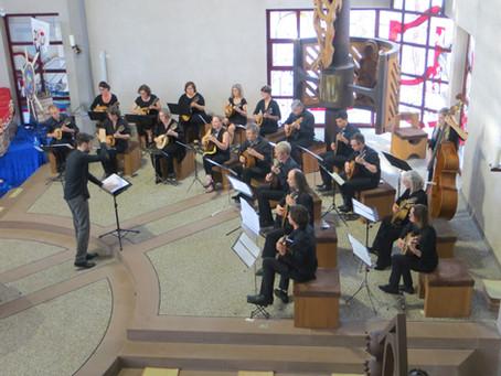 Konzert in Rastatt mit Verleihung des Arnold Sesterheim Preises am 18.07.2021