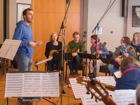 Aufnahme der CD: Christopher Grafschmidt, Werke II am 30./31.1. und 12.-14.2.2016
