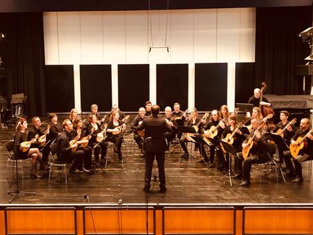 Teilnahme beim Bundeswettbewerb für Auswahlorchester 2018 in Trossingen