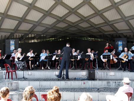 Konzert im Musikpavillon in Freiburg am 09.08.2020