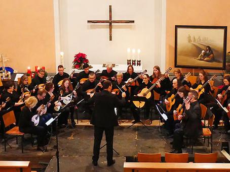 Arbeitsphase in Oberkich und Konzert in Auenheim am 9. und 10.12.2017