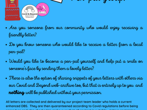 Get writing and join the Pen-Pal's in Par