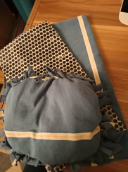 RECreate session 3 no sew cushions and w
