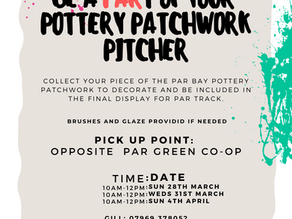 Come and pick up your piece of the pitcher!